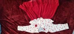 Vestido bebe menina 1 ano