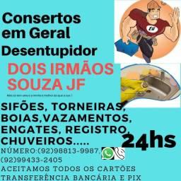 CONSERTOS EM GERAL ACEITAMOS TODOS OS CARTÃO