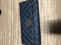Bolsa carteira em.couro - nova