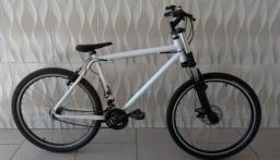 Título do anúncio: Bicicleta GTS Branca Aro 26