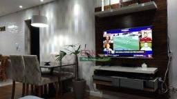 Apartamento com 2 dormitórios à venda, 75 m² por R$ 318.000 - Santa Terezinha - São Bernar