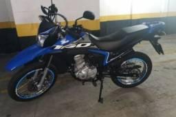 Moto bros azul