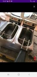 Fritadeira para lanchonete