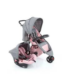Carrinho e bebê conforto cosco travel system duo jetty
