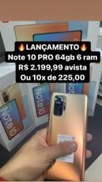 Redmi Note 10 pro 64 gigas  6 ram