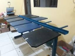 Mesa de berço para Serigrafia. R$ 750
