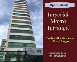 Oportunidade: Imperial  Morro Ipiranga, 3 Suítes,  171 m²,  3 vagas, varanda
