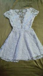 Vestido Branco P