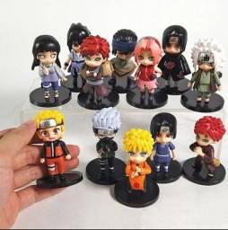 Action Figure Naruto - 12 Pçs
