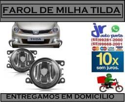 Par Farol de Milha Nissan Tiida 2008 2009 2010 2011 2012 2013 Auxiliar Neblina