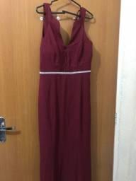 Vestido de festa M- Cor Marsala