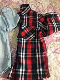 Lote roupas menino