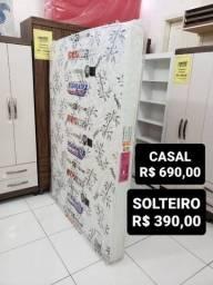 COLCHÃO SOLTEIRO 390,00 e CASAL 690,00! ENTREGA IMEDIATA!