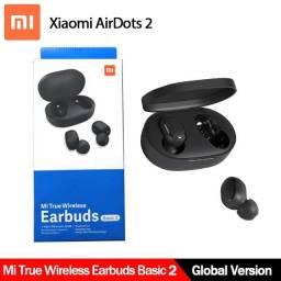 Fone bluetooth 4 Horas de Música!! Xiaomi Redmi Airdots 2!! Original Novo