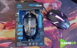Mouse Gamer c/ Retroiluminação RGB 1600Dpi -(Entrega Gratuita)