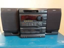 Micro System  Sony ano 1998 precisa de alguns reparos