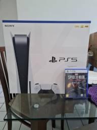 Playstation 5 lacrado com spider man miles morales lacrado