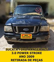 Título do anúncio: Sucata Ford Ranger XLS 3.0 Power Stroke ano 2009 Retirada de peças