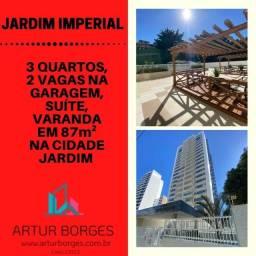 Apartamento na Cidade Jardim - pronto para morar 87m² com 2 vagas de garagem - Lindo!