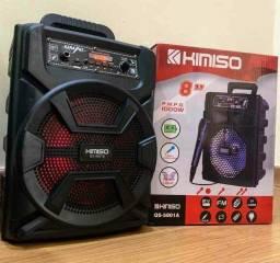 Caixa de Som Bluetooth Microfone
