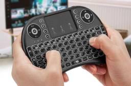Mini Teclado Wireless Led Com Touchpad Lehmox Promoção! ENTREGAMOS SEM CUSTO!