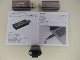 Placa de Captura USB 3.0 HDMI p/ USB 3.0