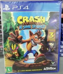 Crash bandicoot - 3 jogos - PS4