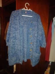 Casaco Vintage Azul