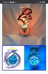Luminárias pvc artesanais