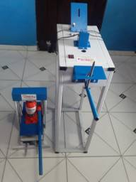 Máquina fabricar chinelos