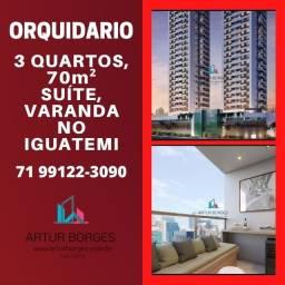 3 quartos, 70m² Orquidário- apartamento no Iguatemi - Surreal