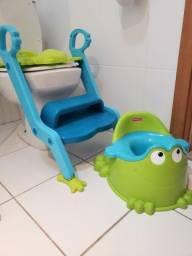 Assento redutor e piniquinho
