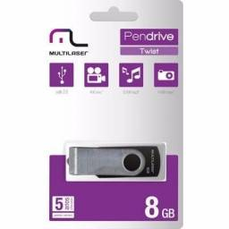 Pen drive de 8gb Multilaser