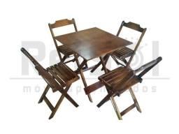 Jogo Mesas e Cadeiras Dobraveis