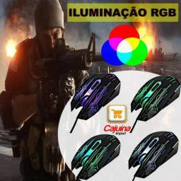 Mouse RGB Gamer Iluminado