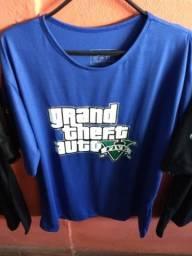 Camiseta GTA V games