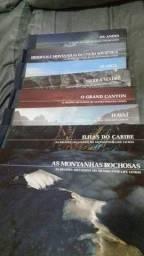 Vendo coleção REGIÕES SELVAGENS DO MUNDO DA TIME LIGEIRAMENTE LIVROS