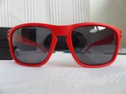 fbeffeb73721c Óculos Oakley Holbrook Matte Red W Grey Polarizado - Novo e Importado