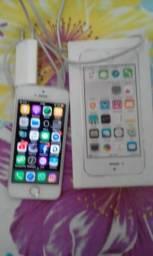 Iphone 5s conservado caixa, nota