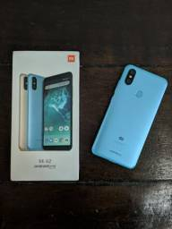 Xiaomi Mi A2 Blue 4/64gb impecável com apenas 3 meses de uso