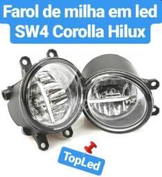 Farol de milha em led Hillux, Corolla e SW4