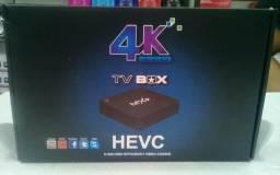 TV box Hevc Novo com garantia e entrega grátis