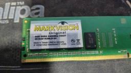 Memoria markvision 8 gb ddr4 2400 mhz preço ótimo.