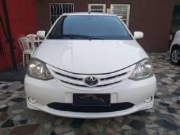 Etios Sedan XS 1.5 2013 completo R$28.900,00