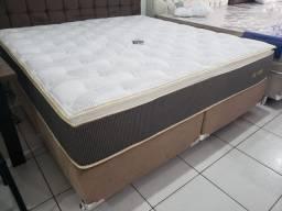 Promoçao cama Box + Colchao Ecolife Super King 193x203 por: 2499,99>