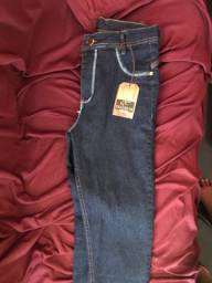Calça cintura alta