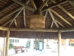 Cabana de piaçava - projeto e execução