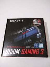 Kit Gamer Processador Intel E7400 e Placa Mãe Gigabyte B150m Gaming 3 Ddr4