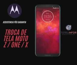 Tela moto z2 Play / moto z3/ moto One / Moto x- Brasília