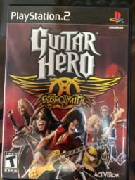 Jogo Guitar Hero Aerosmith PS2 original